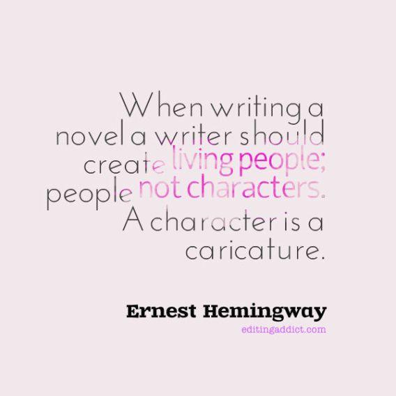 Hemingway quote_living people