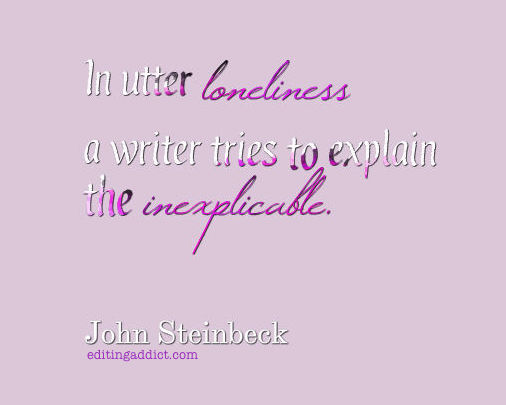John Steinbeck quote loneliness