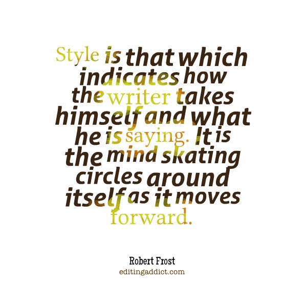 RobertFrost quote style