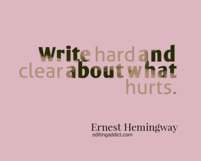 quotescover-JPG-26 Ernest Hemingway hard and clear