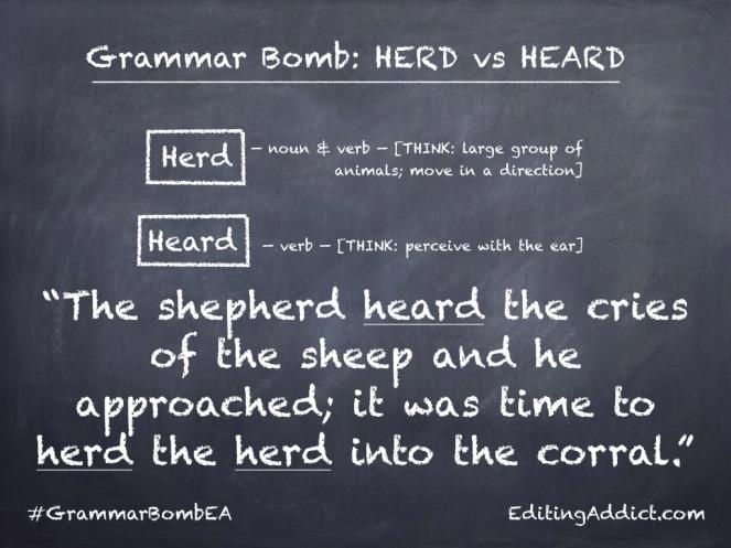 Grammar Bomb11-13.003_Herd vs Heard
