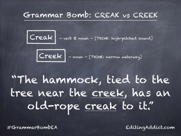 Grammar Bomb1724.004_Creak vs Creek