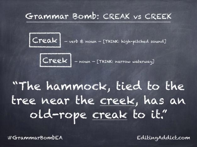 Grammar Bomb1724.004_Creak vs Creek