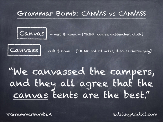 Grammar Bomb1724.005_Canvas vs Canvass