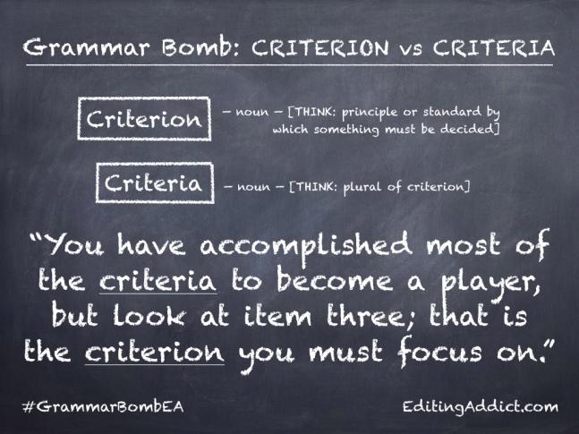 Grammar Bomb1724.007_Criterion vs Criteria