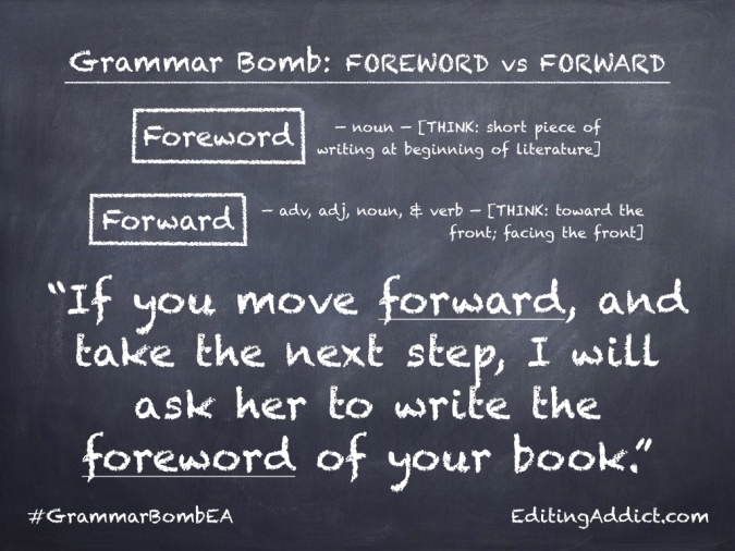 Grammar Bomb34.002_Foreword vs Forward