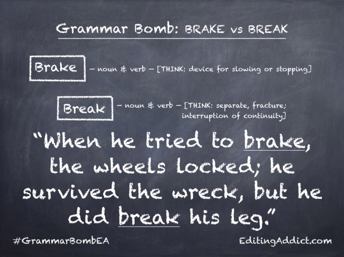 Grammar Bomb40.004_Brake vs Break