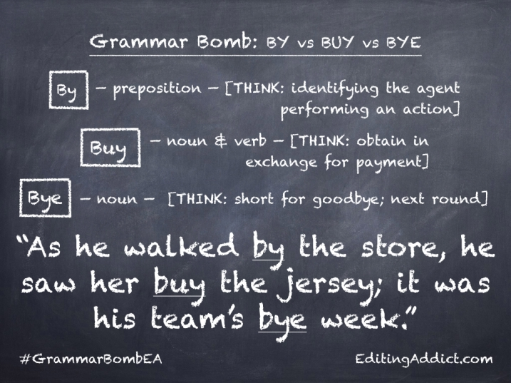 Grammar Bomb40.006_By vs Buy vs Bye